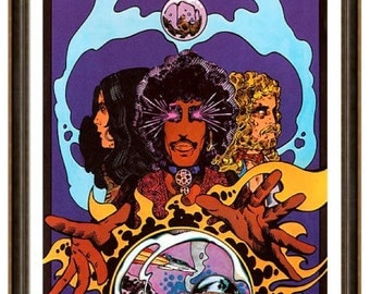 "Thin Lizzy Vagabonds Of The Western World Poster 16x11"" Print."