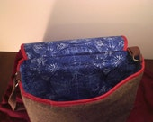 Additional pockets for Doctor Who bag