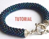 Beading Tutorial - Crochet Seed Bead Bracelet