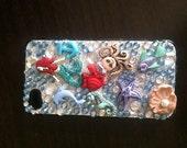 Little mermaid under the sea Iphone 4 phone case