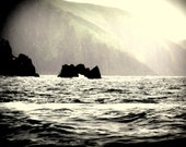 Ireland Landscape Photography Sea and Mountains Into the Sun Dingle Bay, County Kerry.