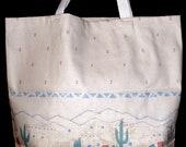 Reusable CANVAS TOTE BAG - Pueblo Village