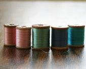 Vintage Thread Set in Pastel