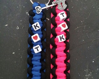 Couples Paracord Keychains - FREE SHIPPING