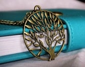 Tree of Friendship Necklace-everyday wear, gift, modern, casual, simple