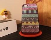 Original Native Tribal Apple Iphone 4 / 4s Hard Case Pattern Hipster Aztec
