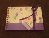 Birthday Scrapbook Album Premade