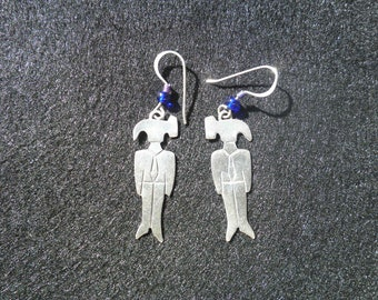 Clearance - Vintage Far Fetched Sterling Silver 4.3 Gram Hammerhead Earrings