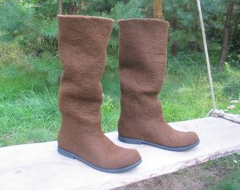 Felted boots BRAVO
