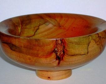 Wood Bowl- Ambrosia Maple Wood (sn.009)