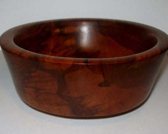 Wood Bowl- Granadillo Wood (sn.020)