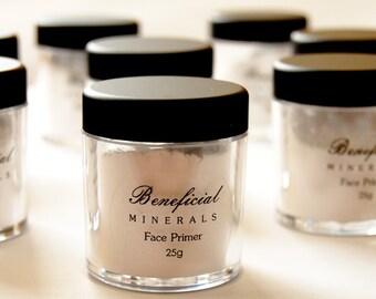 FACE PRIMER Mineral Makeup Foundation Primer Natural Vegan Minerals