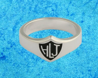 Wide CTR Choose The Right Ring in Spanish HLJ Ring Sterling Silver
