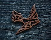 Laser Cut Wood Sparrow