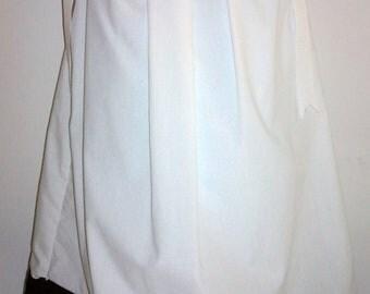 Custom boutique Chocolate Brown And White Dot  girls Pillowcase Dress/ Children's Summer Dress, Vacation dress. Size 4 T