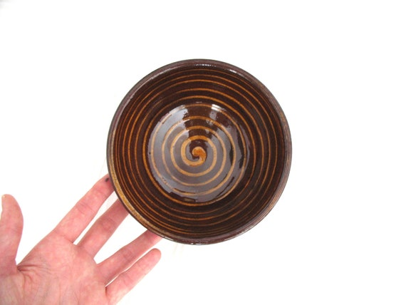 RESERVED FOR STEPHANIE - Ceramic soup bowl - glazed pottery - wheel thrown bowl - rustic decoration - ready to ship