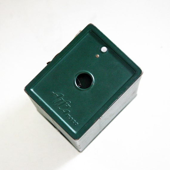 vintage AGFA /ANCO Green B2 , 120 film type box camera in excellent condition :),Germany