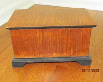 Wood Grain Painted Box - 2001