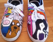 Adventure time shoes - loveturtlefly