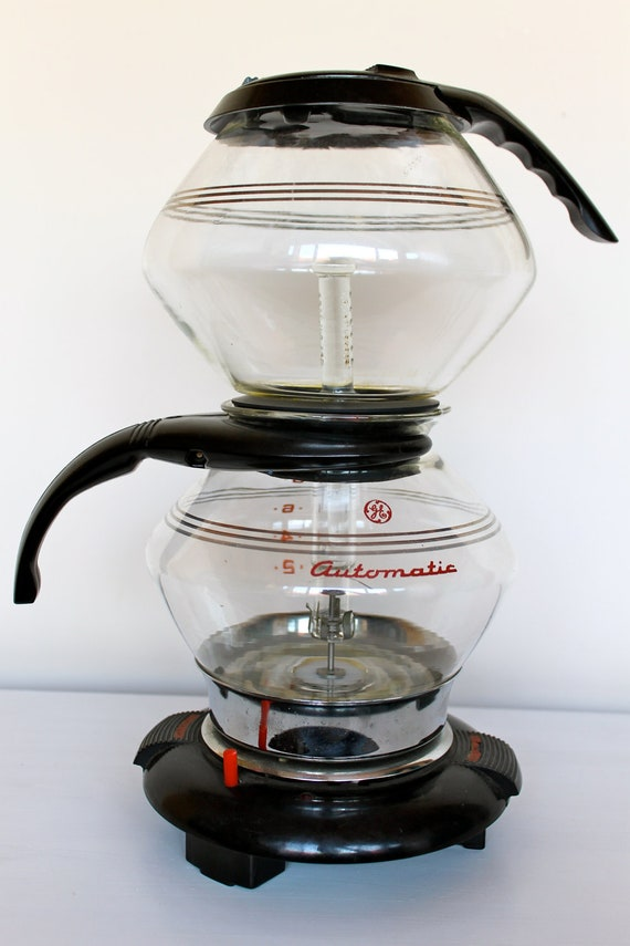 Coffee Pot Warmer Electric : 1940s General Electric vacuum coffee pot with warmer