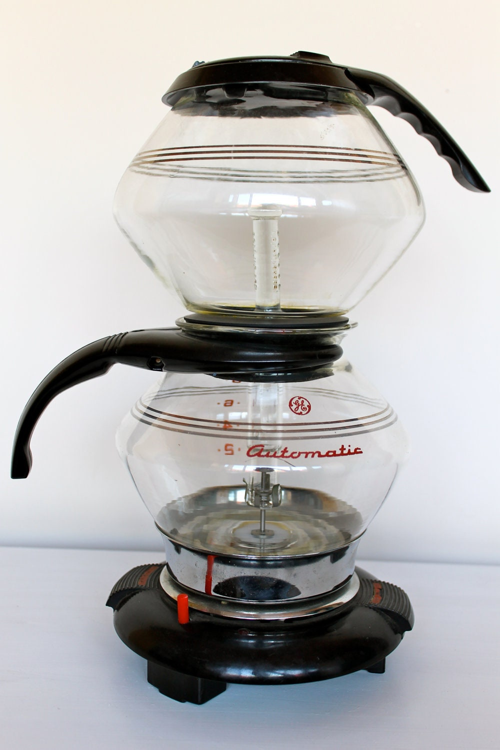 Vacuum Coffee Maker ~ S general electric vacuum coffee pot with warmer