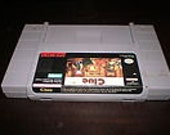 CLUE Game Cartridge For Super Nintendo SNES (Release Year 1992)