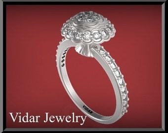 Flower Engagement Ring,Diamond Engagement Ring,Engagement Ring,Halo Engagement Ring,UNIQUE Engagement Ring,Weddings,Luxury,Brides,White gold