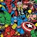 One Yard of Marvel Superhero Fabric