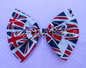 Unisex london england pin on bow tie