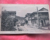 Vintage Black and White Postcards Martinique Saint Pierre Caribbean Islands Real Photos B&W Flappers 1920s