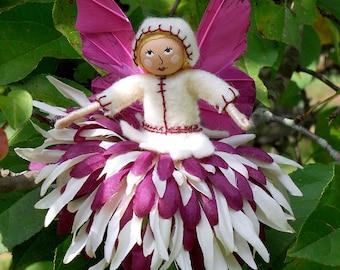 Purple and cream Flower Fairy