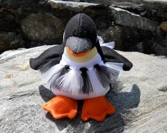 "Plush Penguin- ""Tasha"""
