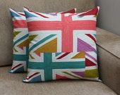 Union Jack London 2012 Olympic Cushion or Pillow Cover LIMITED EDITION (cushion insert not provided)
