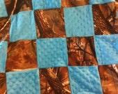 Realtree camo blanket