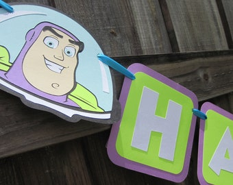 Disney Pixar's Toy Story Birthday Banner