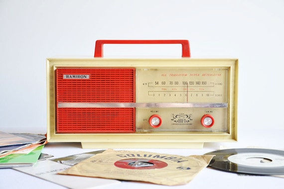 Reserved for E. Radio days. 1970's Vintage Radio