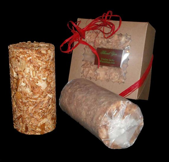 Scented Fire Starter Logs By TimberJacksWoodshop On Etsy