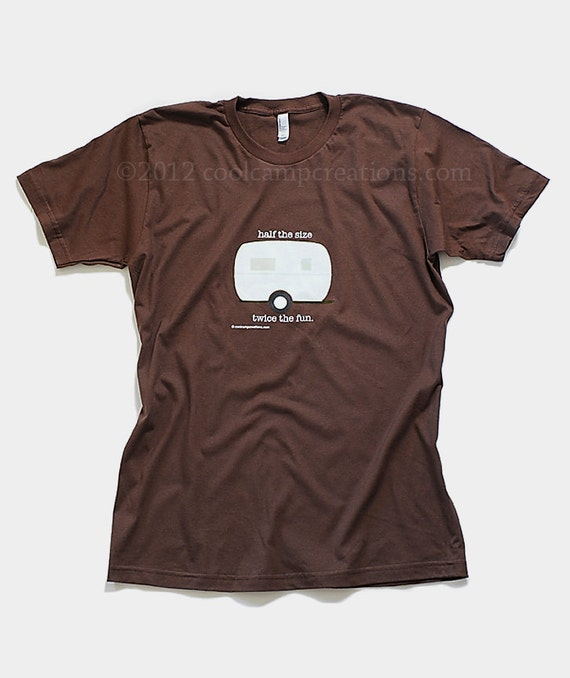 Cool camping t-shirt