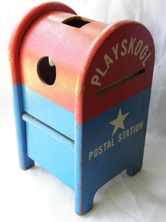 80's Playskool Postal Station