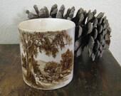 Vintage English Ware Cup/Holder
