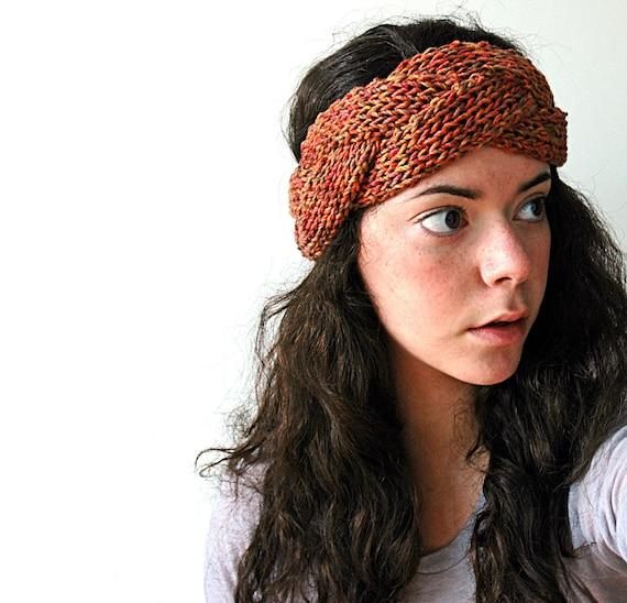 Orange Braidy Headband