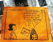 Peanuts' Schroeder and His Records Patch