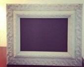 "8.5"" x 11"" Mint Green Antique Chalkboard Frame"