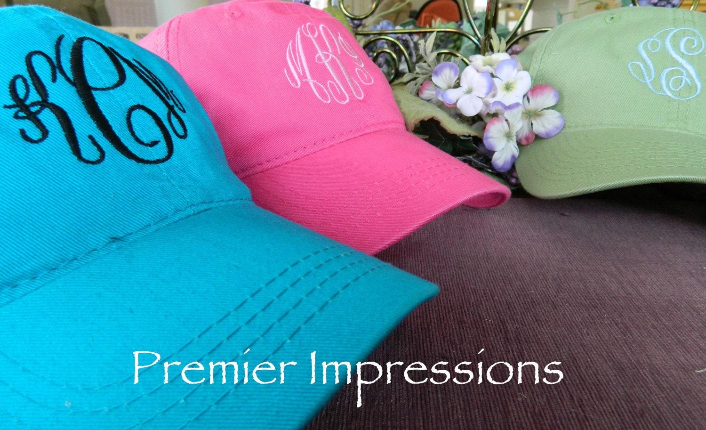 Hats Monogrammed Caps Baseball Caps. 25 by PremierImpressions