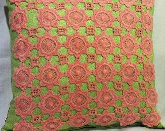 Vintage Doily Pillow
