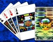 Custom Playing Cards - Pinball Backglasses