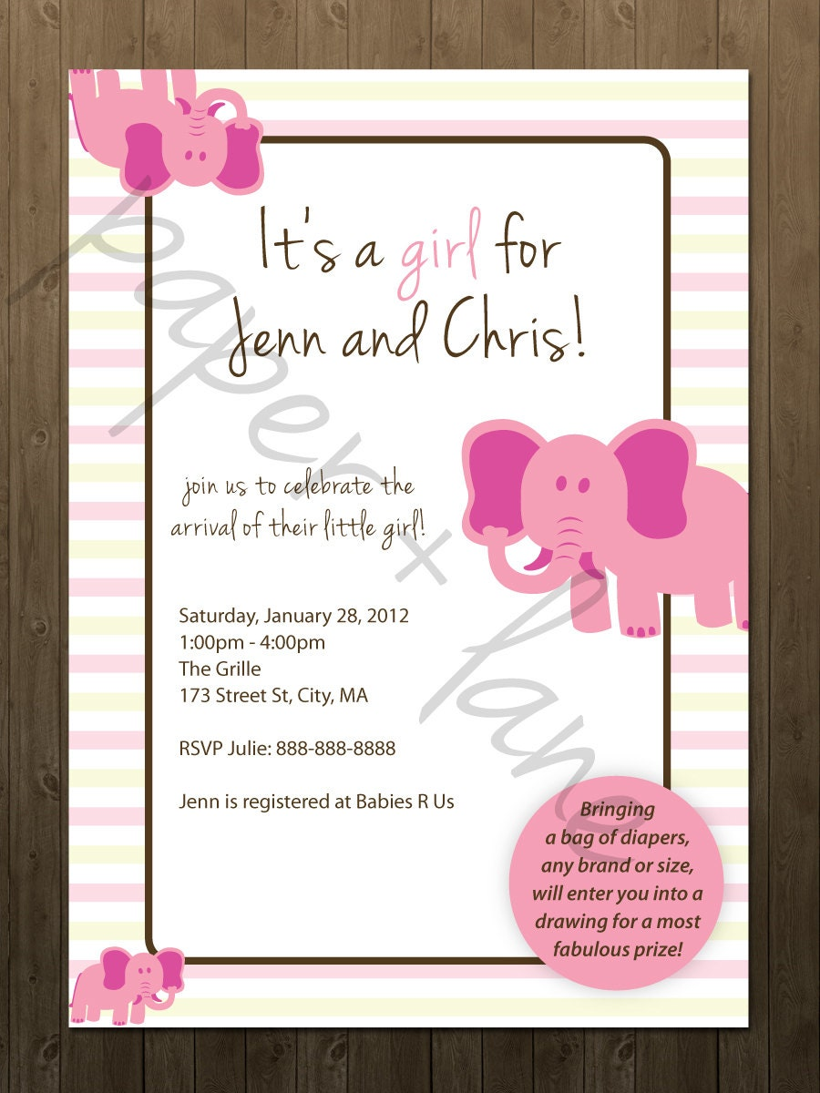 Invitations For Coed Baby Shower with best invitation example
