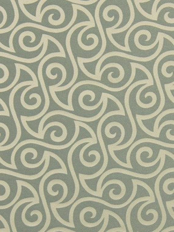 1/2 YD Robert Allen Musical Swirls Twine - Fabric Remnant