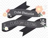 Custom Listing for lbanik1