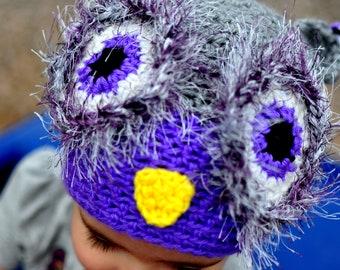 Hoot The Owl Crochet Hat